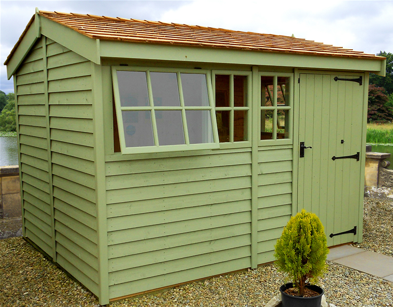 Quality garden sheds for Cedar shingle shed